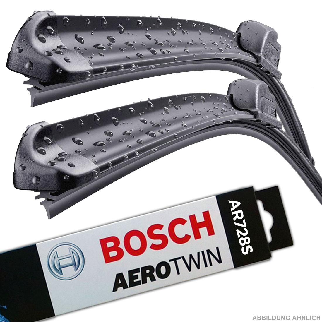 BOSCH AEROTWIN SCHEIBENWISCHER  AR728S für BMW 3er FORD FOCUS E46