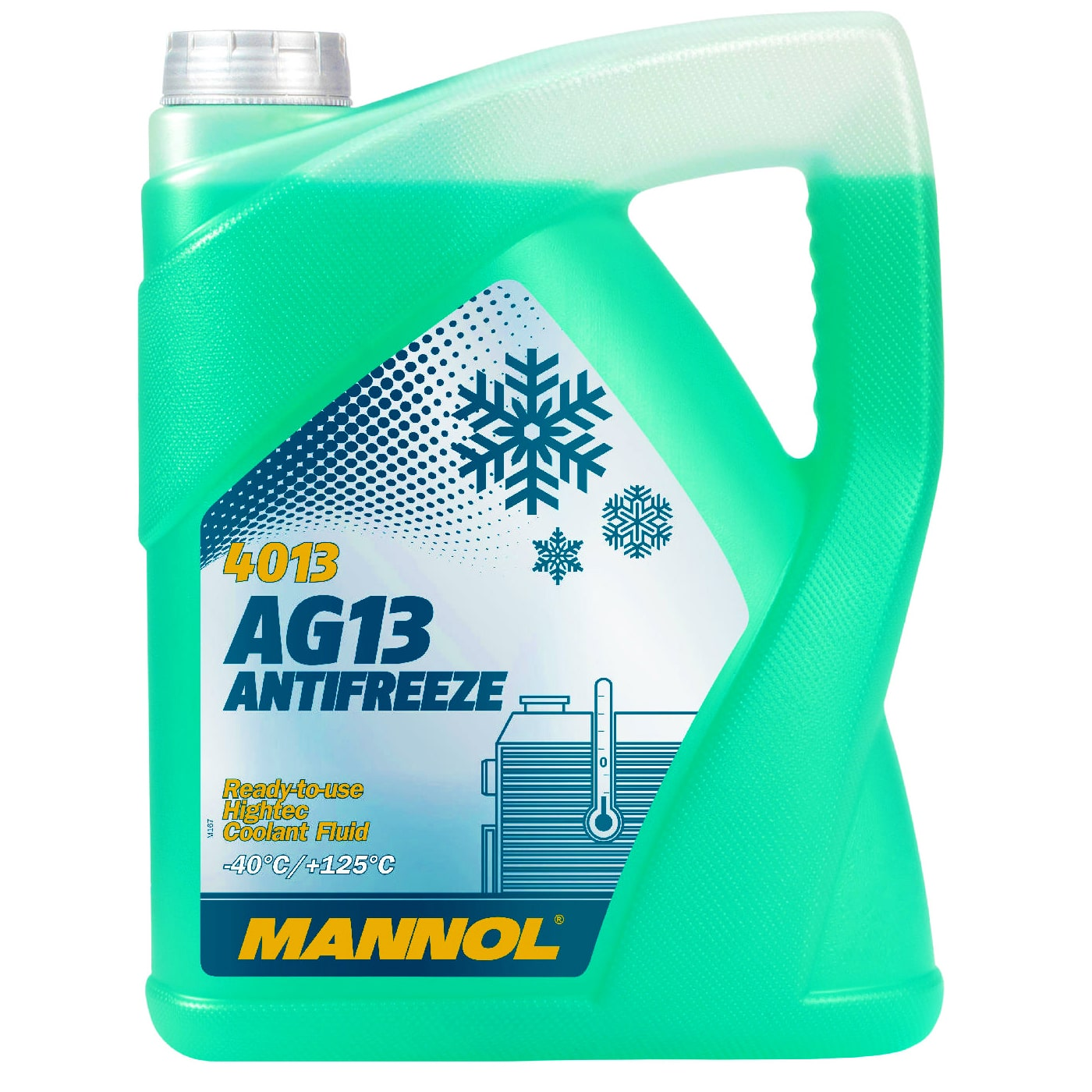 Kühlerfrostschutz Grün 5 L Mannol Antifreeze -40°C Kühlmittel BMW Ford Opel