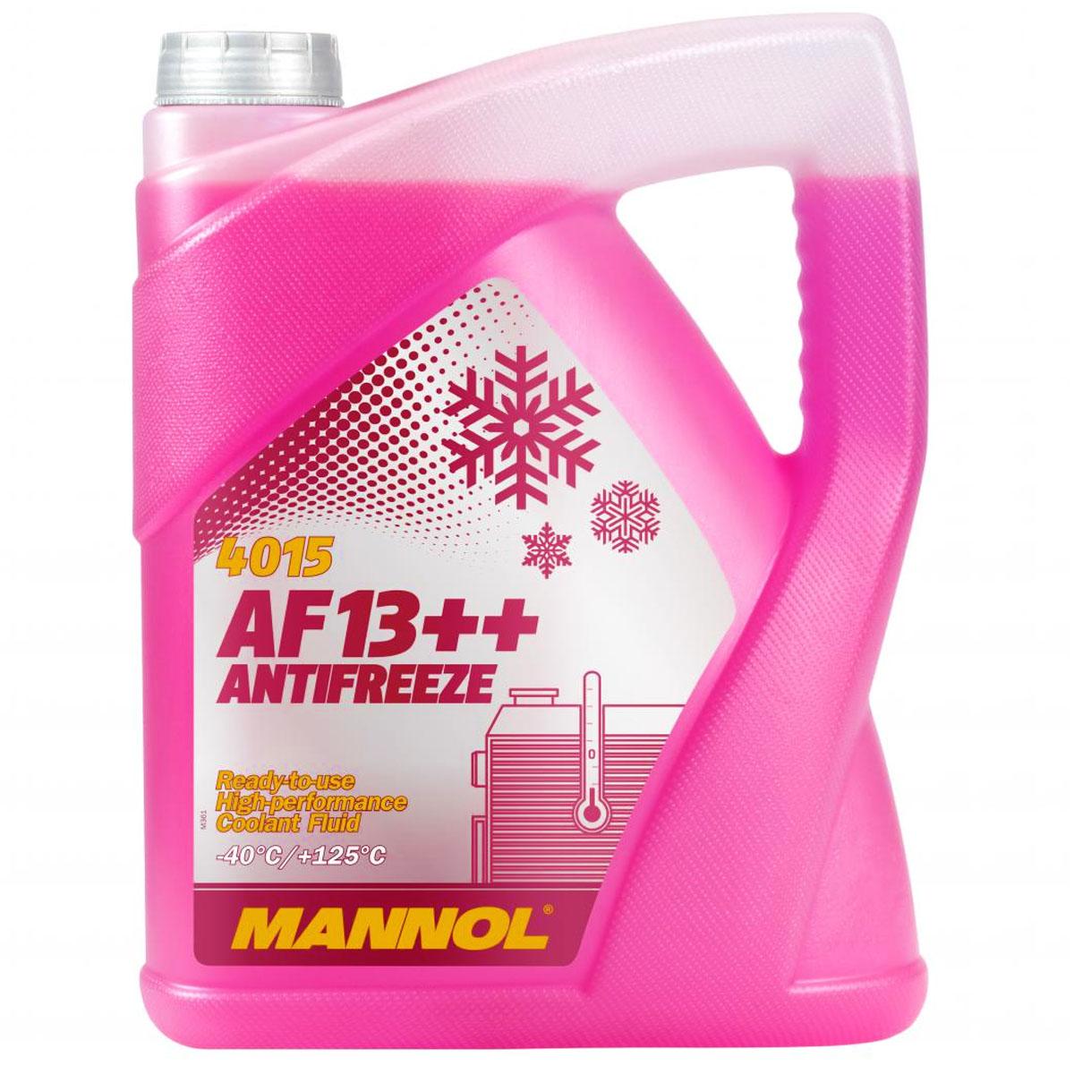 Kühlerfrostschutz G12+ 5 L Mannol Antifreeze AF13++ -40°C Kühlmittel VW Audi