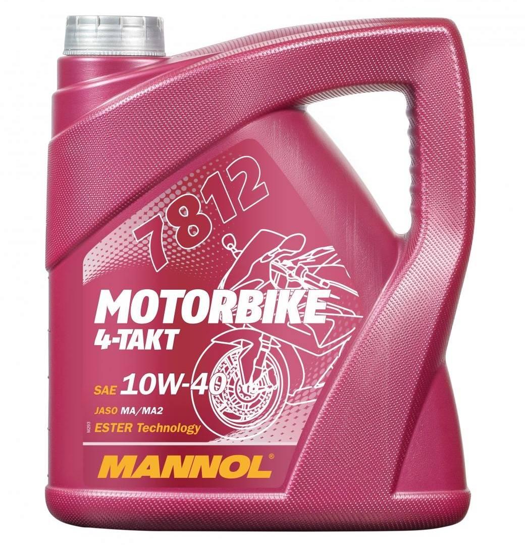 4-Takt 10W-40 Motorbike Öl 4 Liter ESTER Technology Motoröl Motorradöl JASO MA 2