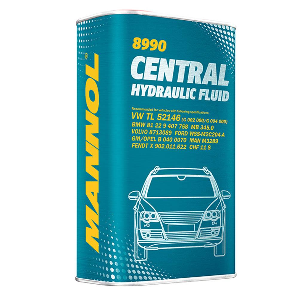 Servoöl Hydrauliköl Mannol 1 Liter ATF-A PSF Hydraulic Fluid VW TL52146