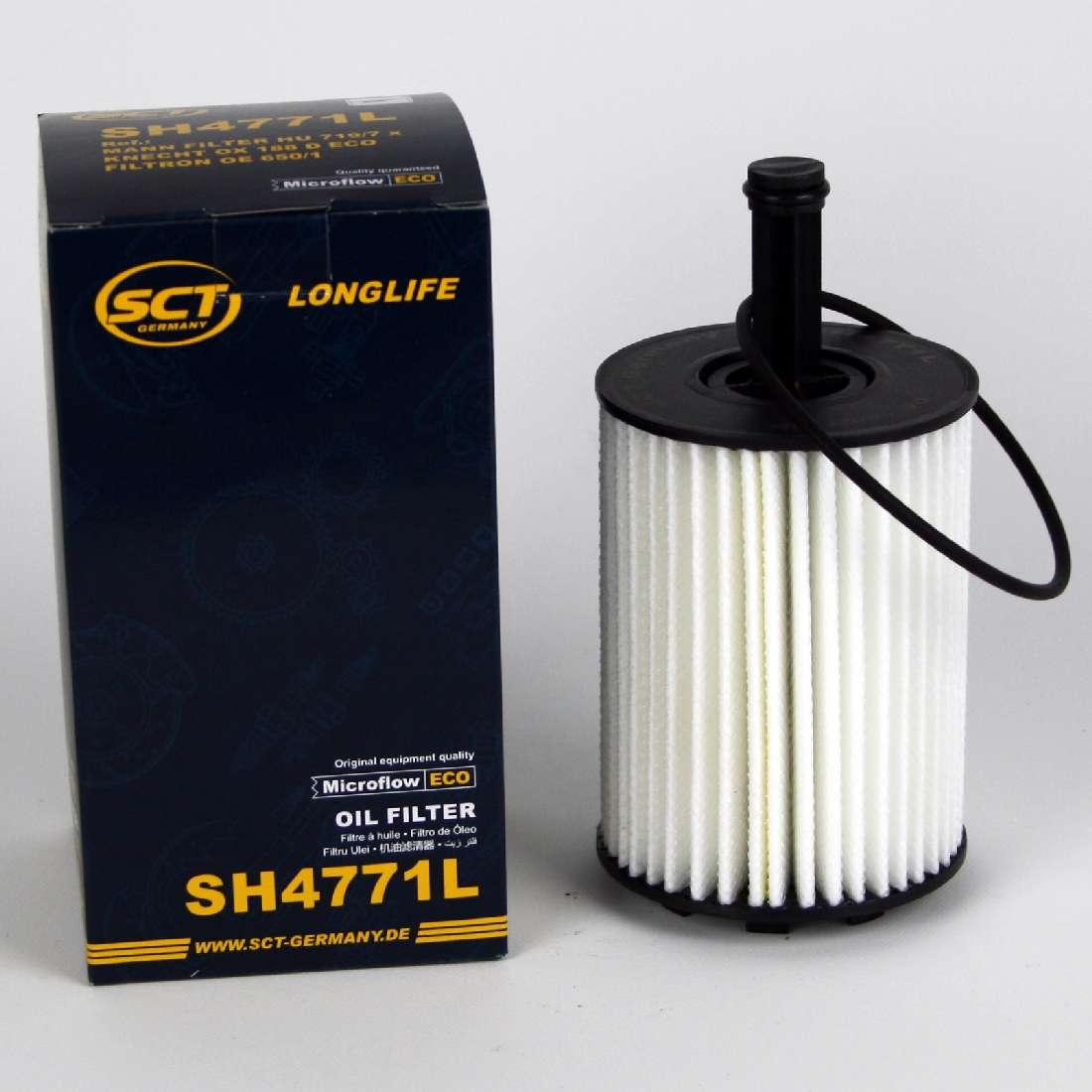 Ölablassschraube SH4771L VAG 1,9 /& 2,0TDI SCT Ölfilter Longlife-Ölfilter inkl