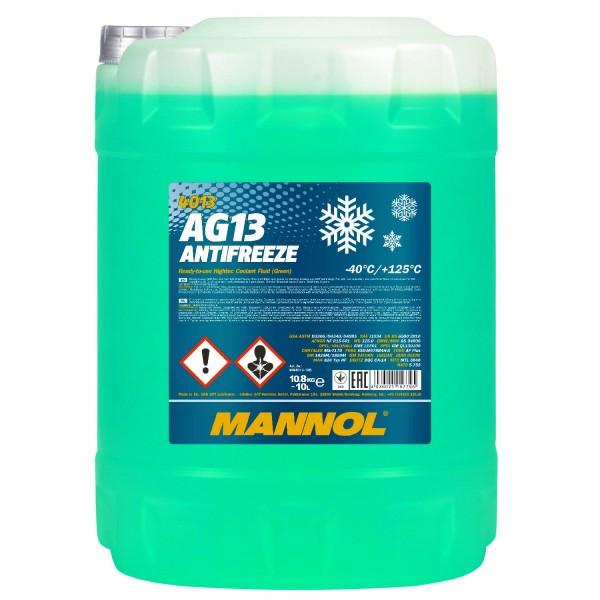 10 Liter MANNOL AG13 -40°C Antifreeze (Hightec)