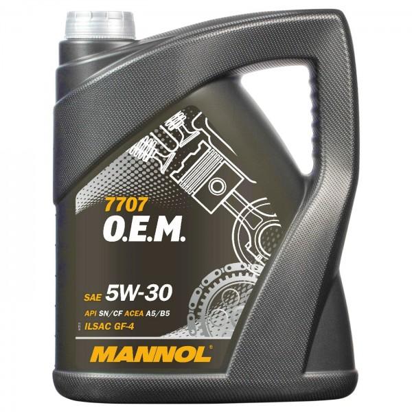 5 Liter MANNOL 7707 O.E.M. 5W-30