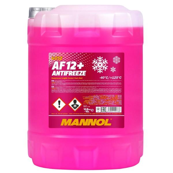 10 Liter MANNOL AF12+ -40°C Antifreeze (Longlife)