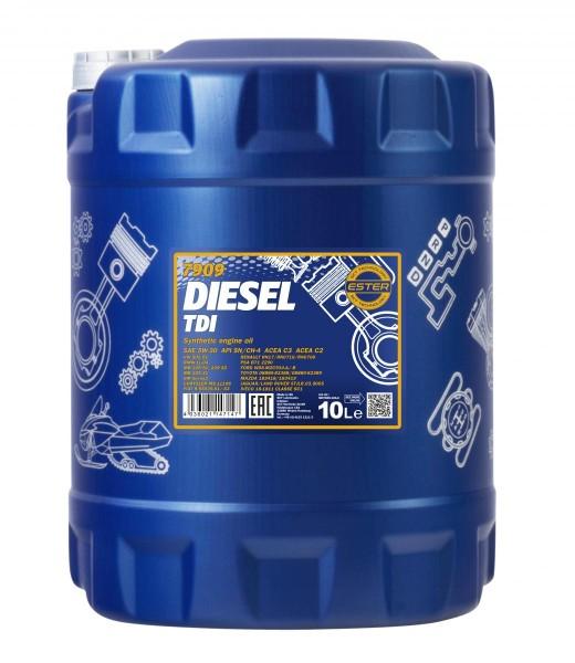 10 Liter Mannol Diesel TDI 5W-30