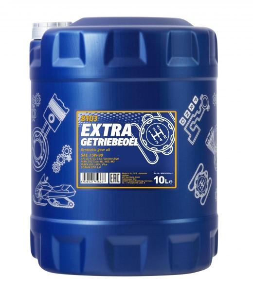 10 Liter Mannol Extra Getriebeöl 75W-90 GL-5