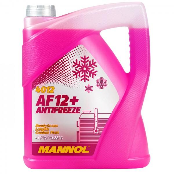 5 Liter MANNOL AF12+ -40°C Antifreeze (Longlife)