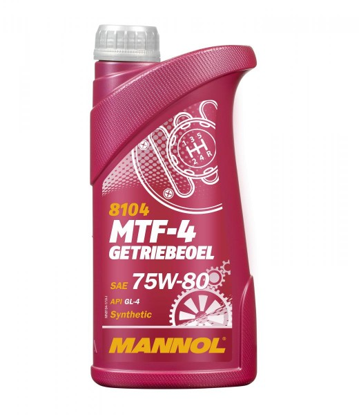 1 Liter Mannol MTF-4 Getriebeöl 75W-80 API GL-4