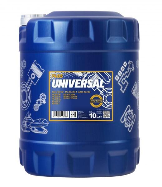 10 Liter Mannol Universal 15W-40