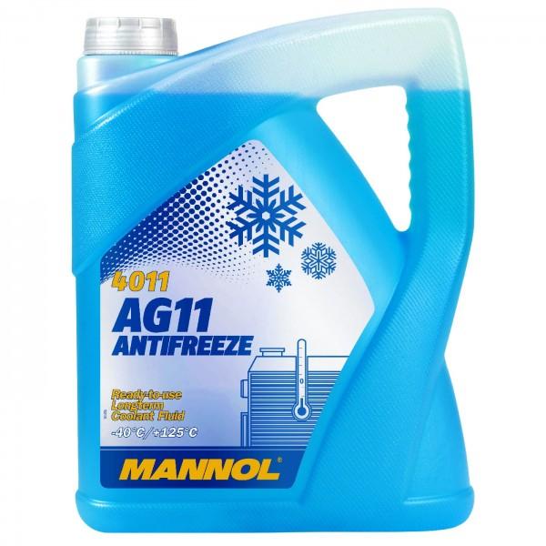 5 Liter MANNOL AG11 -40°C Antifreeze (Longterm)