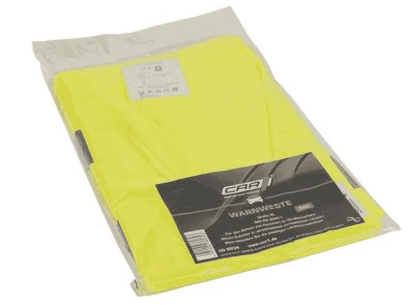 Pannen-Warnweste, gelb, DIN EN 471