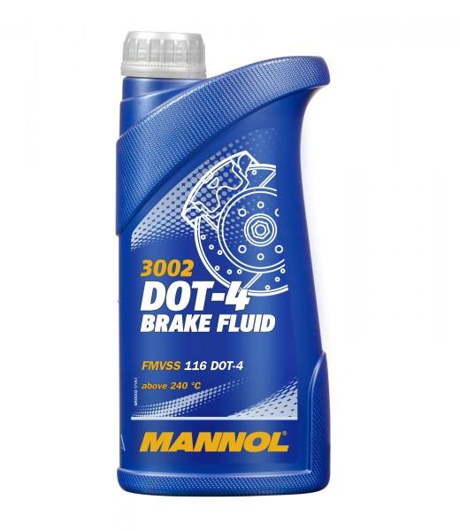910g Mannol Bremsflüssigkeit DOT 4