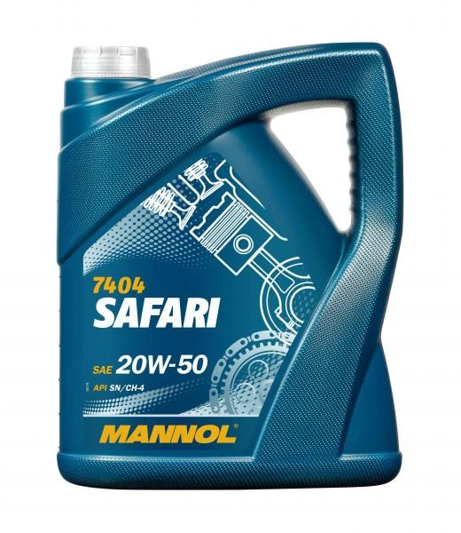 5 Liter MANNOL Safari 20W-50
