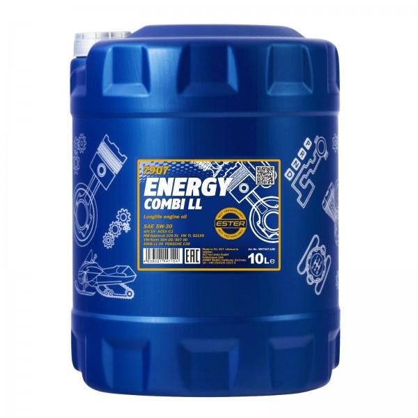 10 Liter MANNOL Energy Combi LL 5W-30