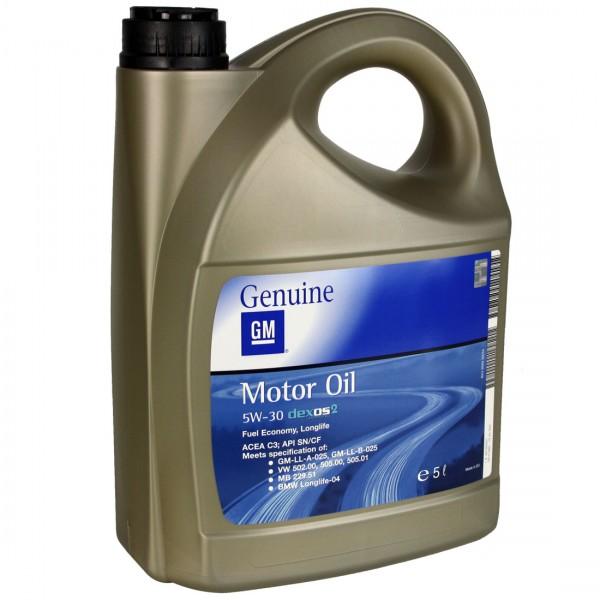 5 Liter GM OPEL Longlife 5W-30 Motoröl