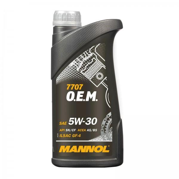 1 Liter MANNOL 7707 O.E.M. 5W-30