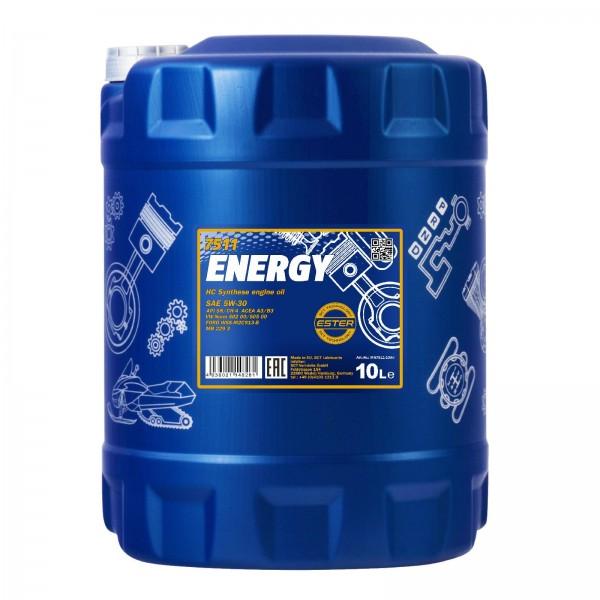 10 Liter MANNOL Energy 5W-30
