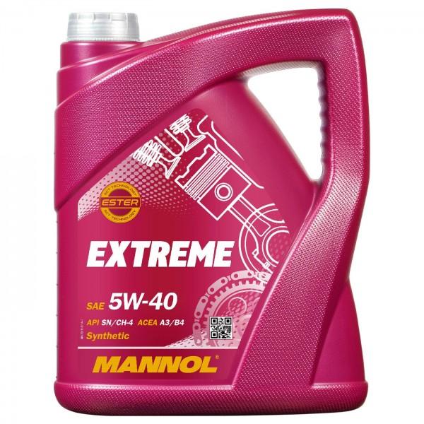5 Liter MANNOL Extreme 5W-40